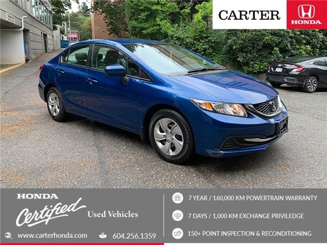 2015 Honda Civic LX (Stk: 3K29271) in Vancouver - Image 1 of 23