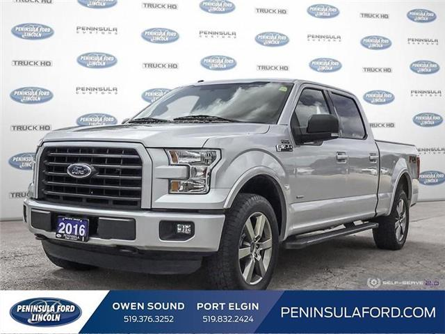 2016 Ford F-150 XLT (Stk: 1835) in Owen Sound - Image 1 of 25