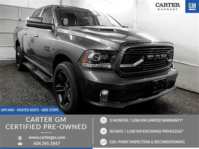 2018 RAM 1500 Sport (Stk: 88-35571) in Burnaby - Image 1 of 24