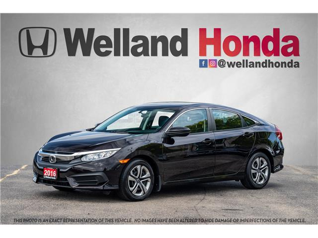 2016 Honda Civic LX (Stk: U19327) in Welland - Image 1 of 19