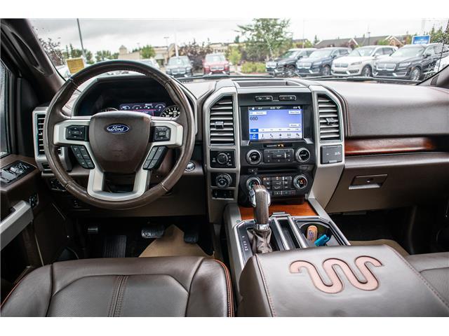 2017 Ford F-150 Platinum (Stk: KK-1060A) in Okotoks - Image 8 of 21