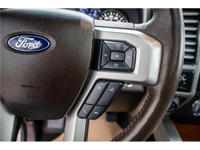 2017 Ford F-150 Platinum (Stk: KK-1060A) in Okotoks - Image 16 of 21