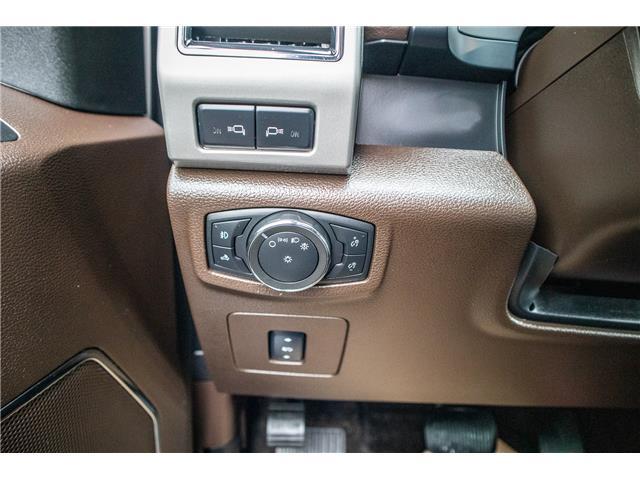 2017 Ford F-150 Platinum (Stk: KK-1060A) in Okotoks - Image 19 of 21