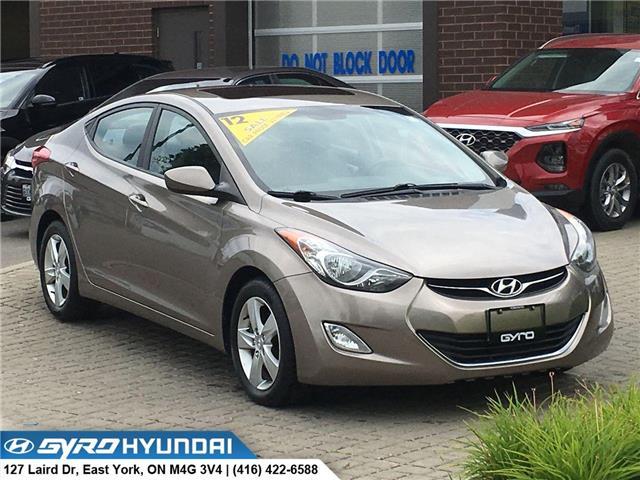 2012 Hyundai Elantra GLS (Stk: H5167) in Toronto - Image 1 of 27