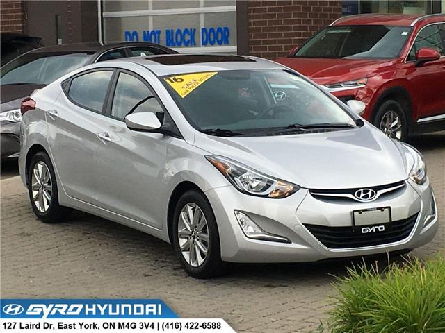 2016 Hyundai Elantra Sport Appearance (Stk: H5147A) in Toronto - Image 1 of 29