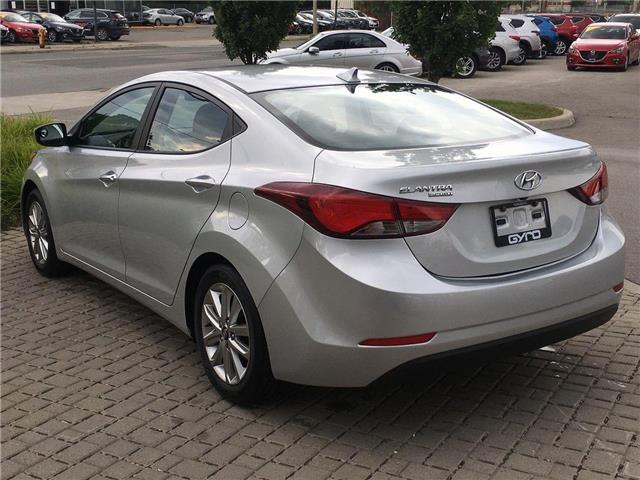 2016 Hyundai Elantra Sport Appearance (Stk: H5147A) in Toronto - Image 8 of 29