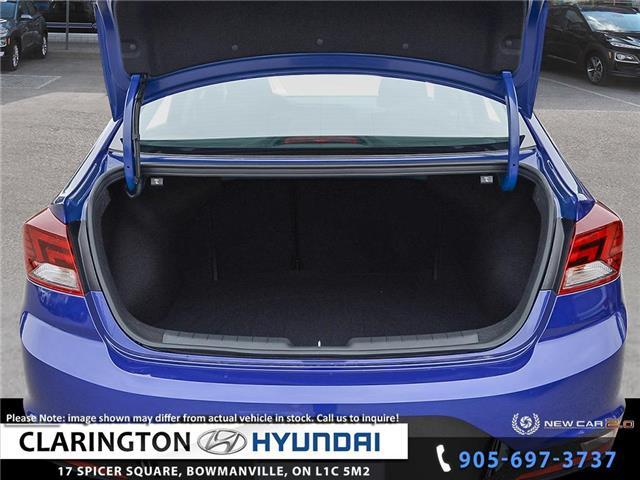 2020 Hyundai Elantra Preferred w/Sun & Safety Package (Stk: 19430) in Clarington - Image 7 of 24