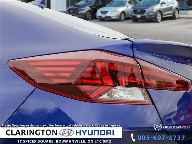 2020 Hyundai Elantra Preferred w/Sun & Safety Package (Stk: 19415) in Clarington - Image 11 of 24