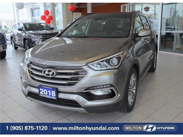 2018 Hyundai Santa Fe Sport  (Stk: 056011) in Milton - Image 1 of 39