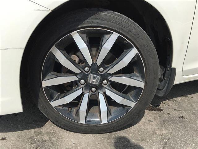 2013 Honda Civic Sedan TOURING LEATHER, SUNROOF, NAVI, ALLOY WHEELS, FOG  (Stk: 45208A) in Brampton - Image 2 of 28