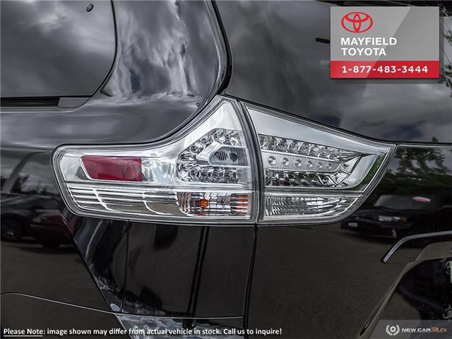 2019 Toyota Sienna Technology Package (Stk: 190263) in Edmonton - Image 11 of 24