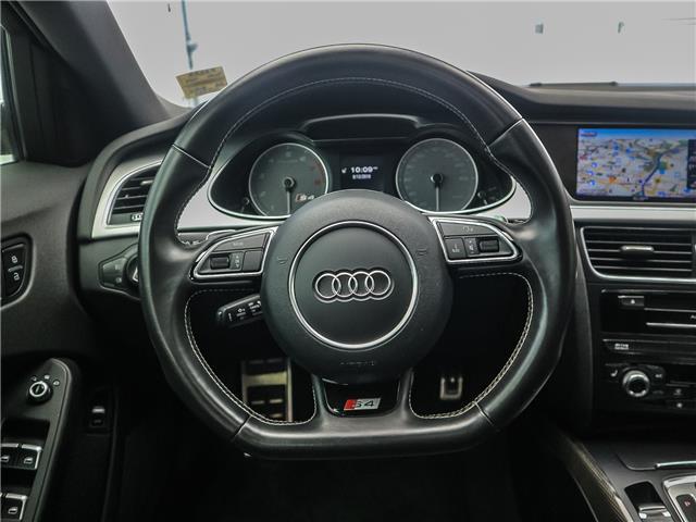 2016 Audi S4 3.0T Progressiv plus (Stk: P3253) in Toronto - Image 12 of 27