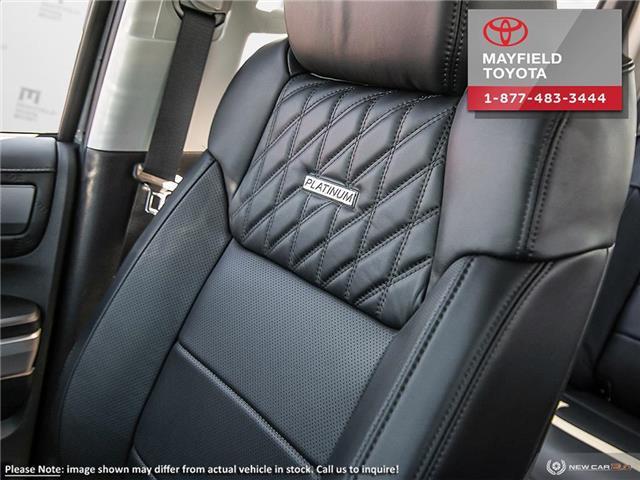 2018 Toyota Tundra Platinum 5.7L V8 (Stk: 180121) in Edmonton - Image 21 of 24