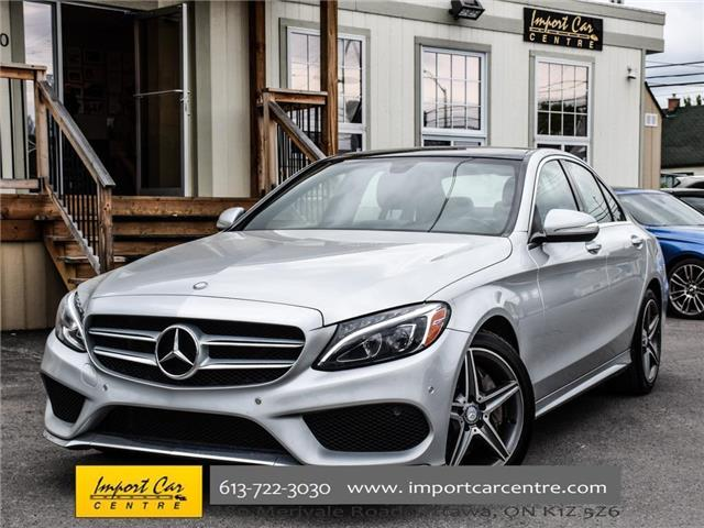 2015 Mercedes-Benz C-Class Base (Stk: 021715) in Ottawa - Image 1 of 27