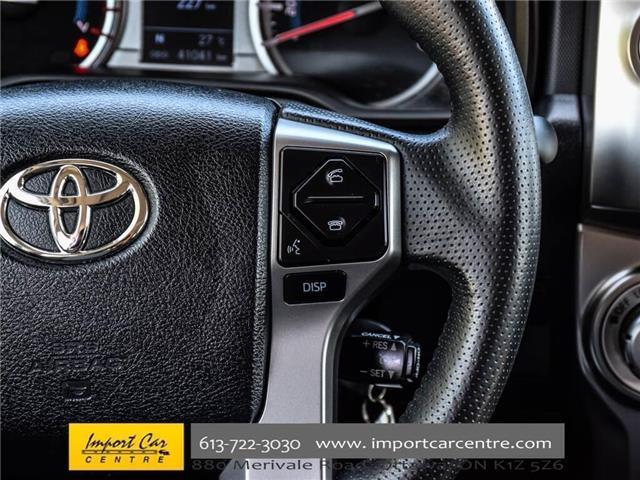 2017 Toyota 4Runner SR5 (Stk: 441265) in Ottawa - Image 20 of 30