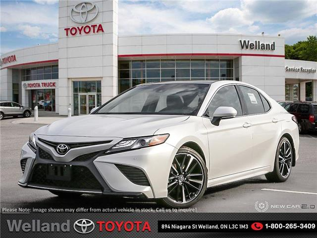 2019 Toyota Camry XSE (Stk: CAM6752) in Welland - Image 1 of 24