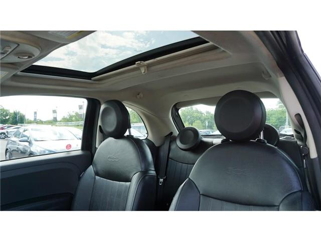 2012 Fiat 500 Lounge (Stk: HN2264A) in Hamilton - Image 19 of 32