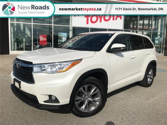 2015 Toyota Highlander LE (Stk: 345471) in Newmarket - Image 1 of 22