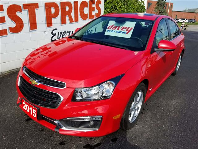 2015 Chevrolet Cruze 1LT (Stk: 19-522) in Oshawa - Image 1 of 16