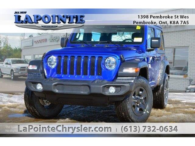 2019 Jeep Wrangler Sport (Stk: 19230) in Pembroke - Image 1 of 20