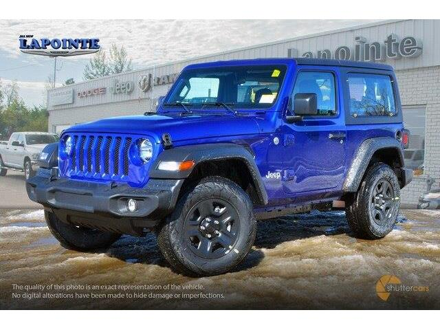 2019 Jeep Wrangler Sport (Stk: 19230) in Pembroke - Image 2 of 20