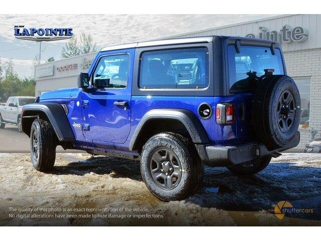 2019 Jeep Wrangler Sport (Stk: 19230) in Pembroke - Image 4 of 20
