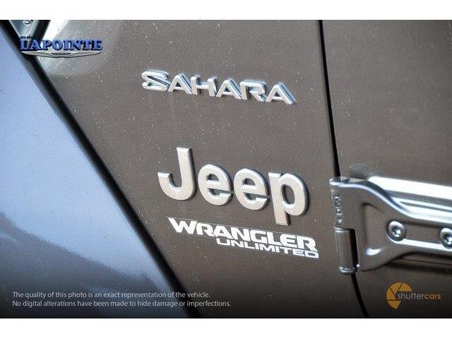 2018 Jeep Wrangler Unlimited Sahara (Stk: 18332) in Pembroke - Image 6 of 20