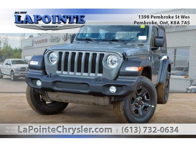 2019 Jeep Wrangler Sport (Stk: 19262) in Pembroke - Image 1 of 20