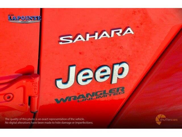 2018 Jeep Wrangler Unlimited Sahara (Stk: 18223) in Pembroke - Image 6 of 20
