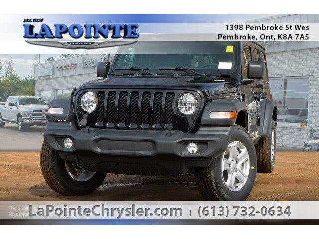 2019 Jeep Wrangler Unlimited Sport (Stk: 19274) in Pembroke - Image 1 of 20