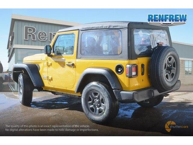 2019 Jeep Wrangler Sport (Stk: K161) in Renfrew - Image 4 of 20