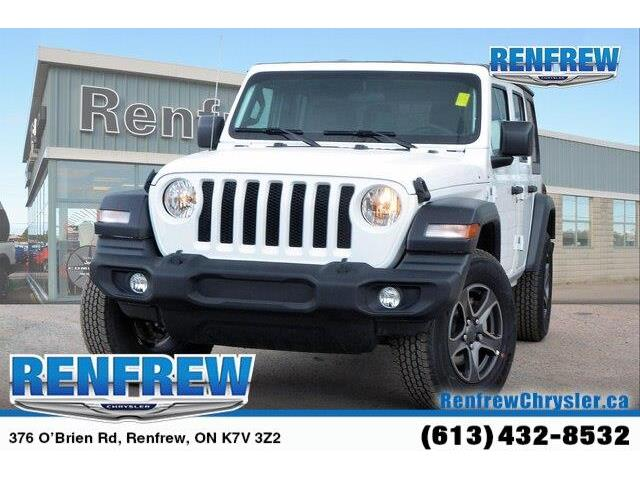 2019 Jeep Wrangler Unlimited Sport (Stk: K230) in Renfrew - Image 1 of 20