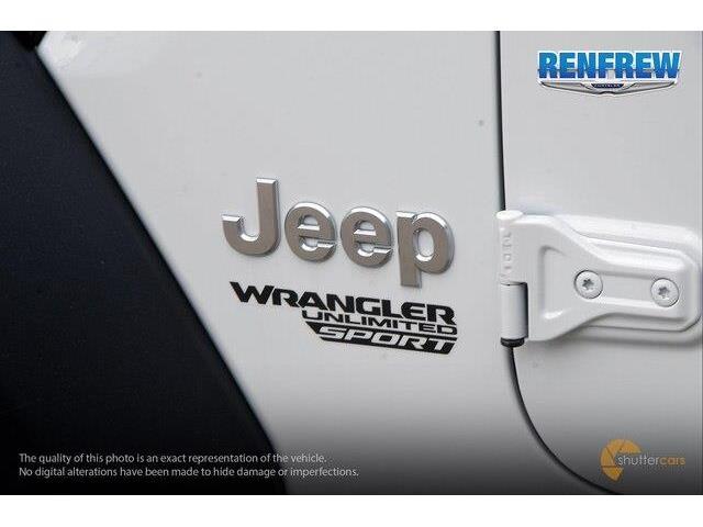 2019 Jeep Wrangler Unlimited Sport (Stk: K230) in Renfrew - Image 6 of 20
