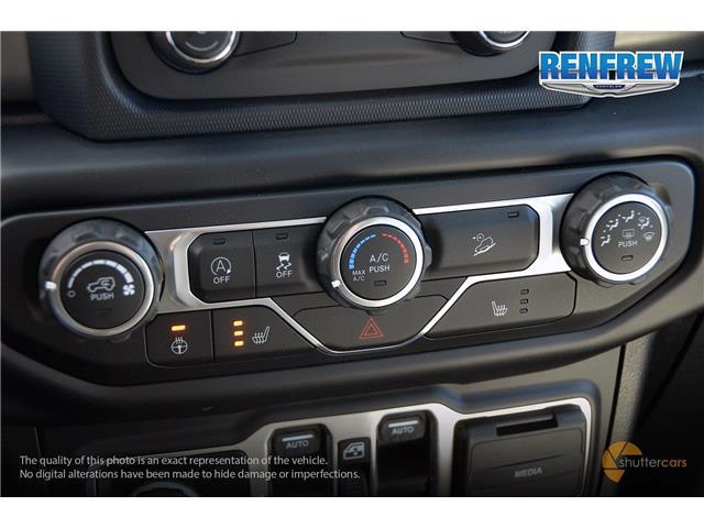 2019 Jeep Wrangler Unlimited Sport (Stk: K184) in Renfrew - Image 17 of 20