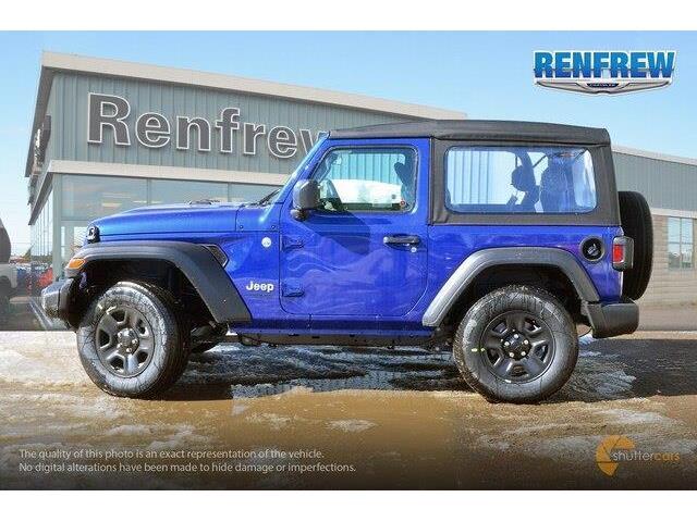 2019 Jeep Wrangler Sport (Stk: K157) in Renfrew - Image 3 of 20