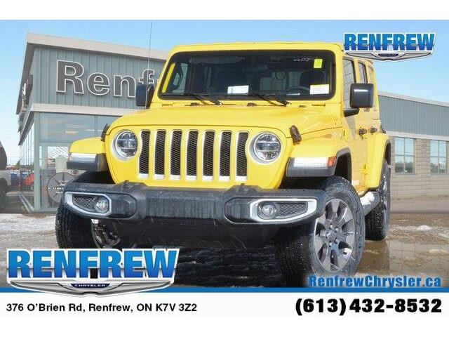 2019 Jeep Wrangler Unlimited Sahara (Stk: K159) in Renfrew - Image 1 of 20