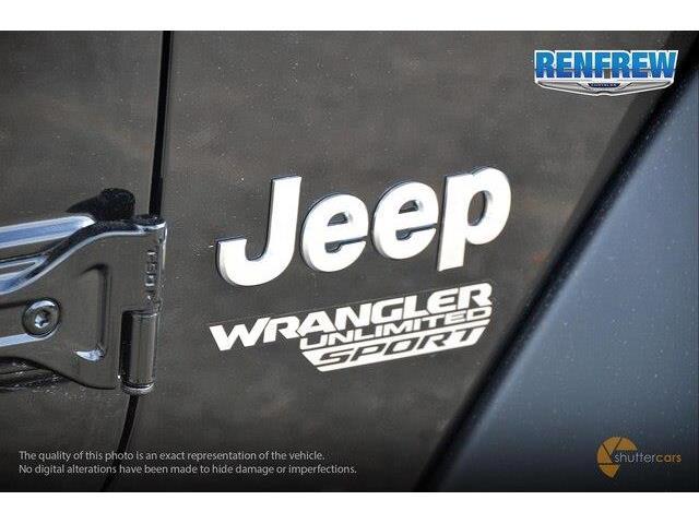 2018 Jeep Wrangler Unlimited Sport (Stk: J209) in Renfrew - Image 6 of 20