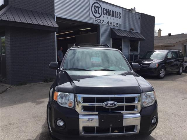 2010 Ford Escape Limited (Stk: ) in Winnipeg - Image 1 of 16