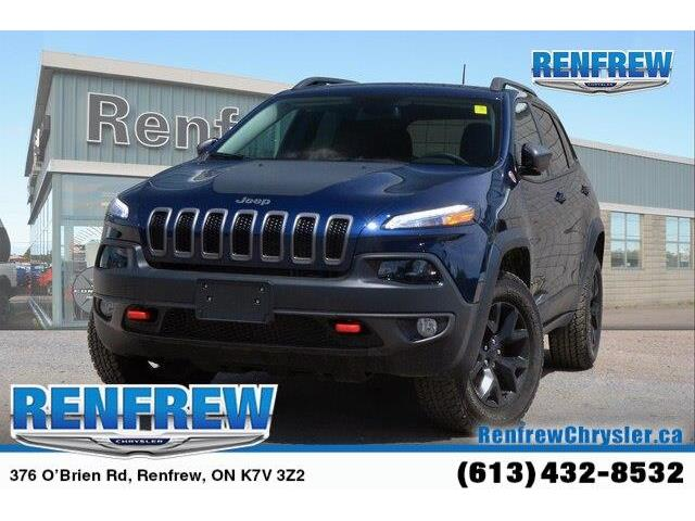 2018 Jeep Cherokee Trailhawk (Stk: P1663) in Renfrew - Image 1 of 20