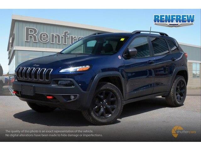 2018 Jeep Cherokee Trailhawk (Stk: P1663) in Renfrew - Image 2 of 20