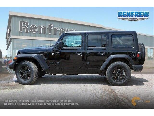 2019 Jeep Wrangler Unlimited Sport (Stk: K267) in Renfrew - Image 3 of 20