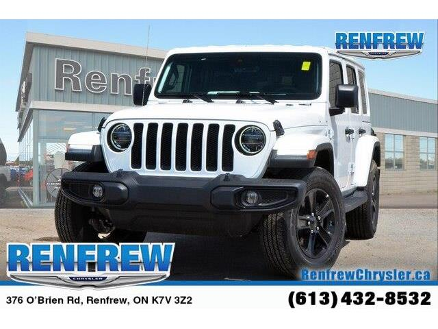 2019 Jeep Wrangler Unlimited Sahara (Stk: K295) in Renfrew - Image 1 of 20