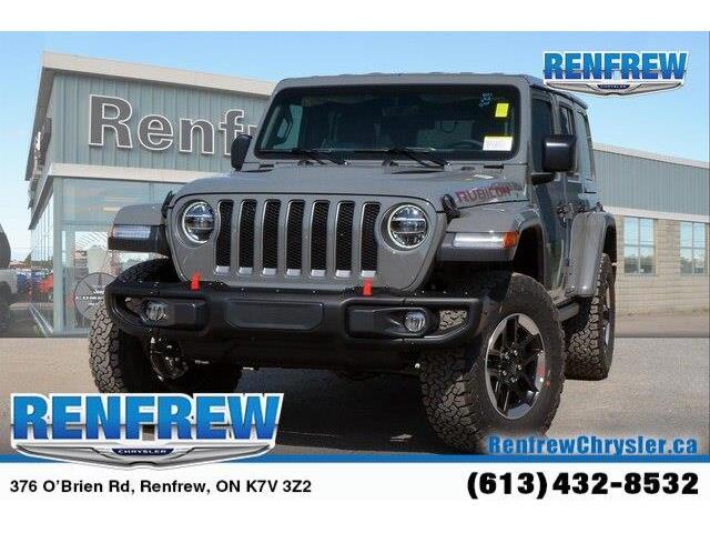 2019 Jeep Wrangler Unlimited Rubicon (Stk: K311) in Renfrew - Image 1 of 20