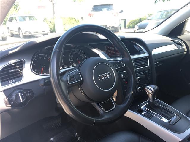 2015 Audi A4 2.0T Komfort (Stk: 1762W) in Oakville - Image 15 of 29