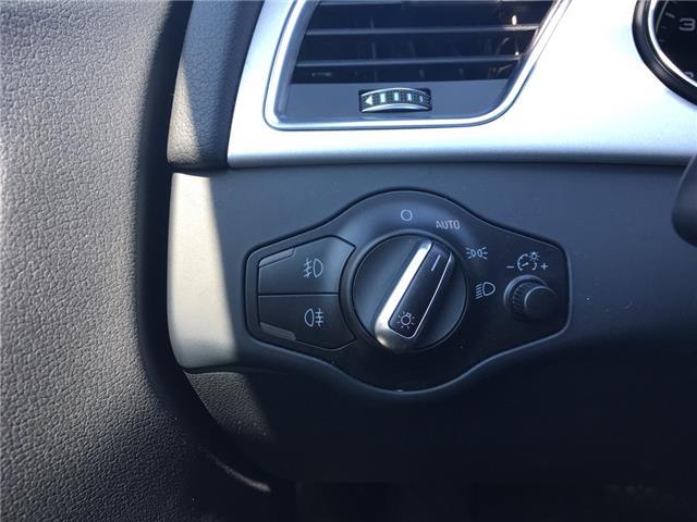 2015 Audi A4 2.0T Komfort (Stk: 1762W) in Oakville - Image 17 of 29