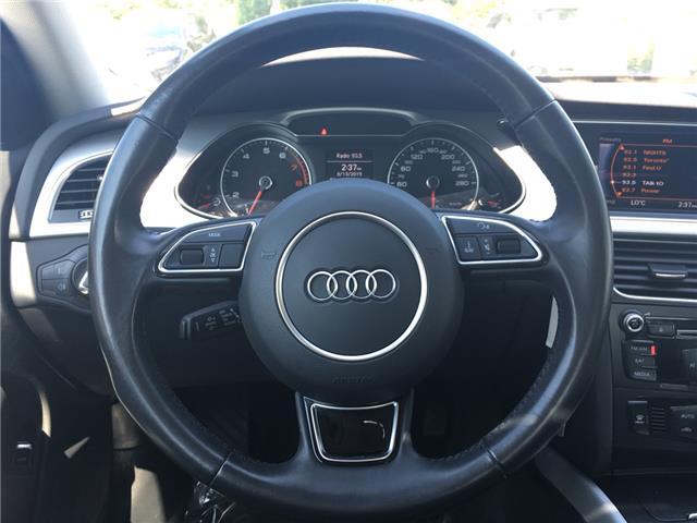2015 Audi A4 2.0T Komfort (Stk: 1762W) in Oakville - Image 19 of 29