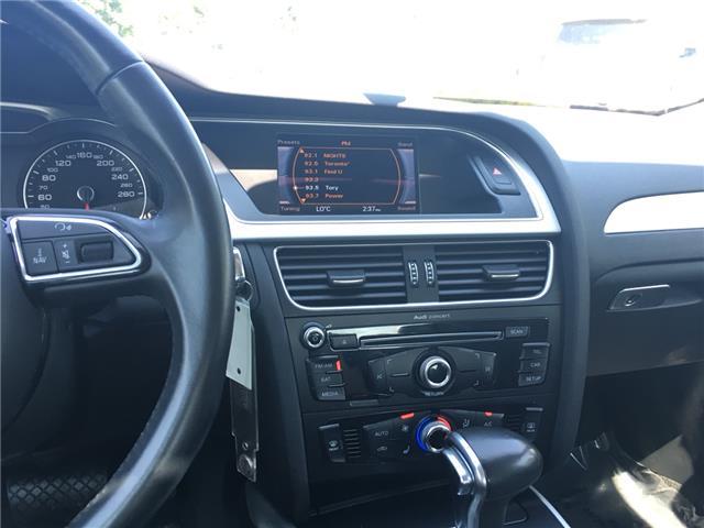 2015 Audi A4 2.0T Komfort (Stk: 1762W) in Oakville - Image 20 of 29