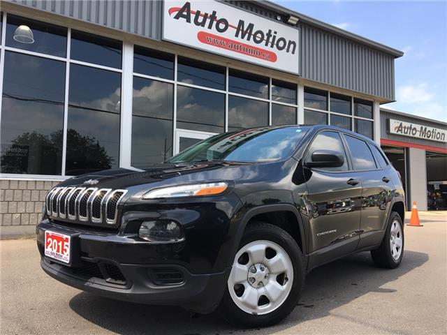 2015 Jeep Cherokee Sport (Stk: 19922) in Chatham - Image 1 of 19