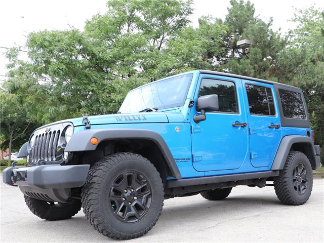 2016 Jeep Wrangler Unlimited Sport| 4X4| Low KMS! |PWR Options| B-Tooth (Stk: 5453) in Stoney Creek - Image 1 of 16