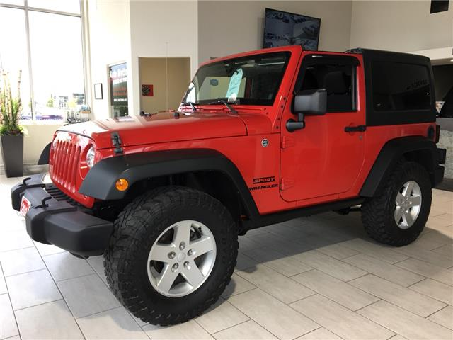 2014 Jeep Wrangler Sport (Stk: 19879) in Chatham - Image 1 of 12